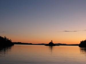 Rossport - Lake Superior Sunset