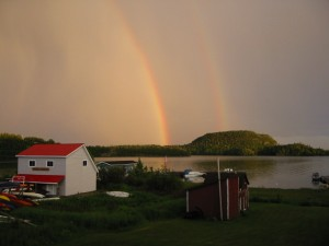 Rainbow over Rossport